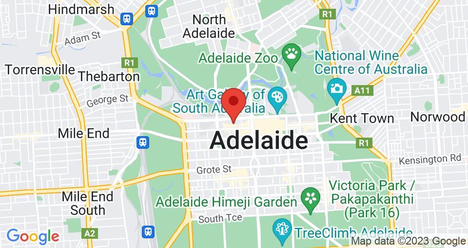 Google Map of UniLodge Metro Adelaide