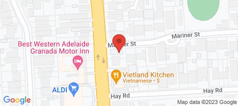Location map for 2/472 Portrush Road Linden Park