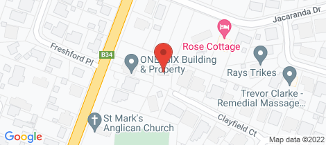 Location map for 9 Clayfield Court Woodside