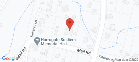 Location map for 4 Mail Road Harrogate