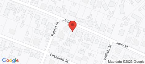 Location map for 20 John Street Woodside