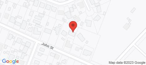 Location map for 61 John Street Woodside