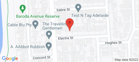 Location map for 5 Electra Street Netley