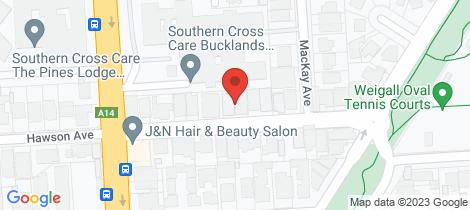 Location map for 7 Laverack Road North Plympton