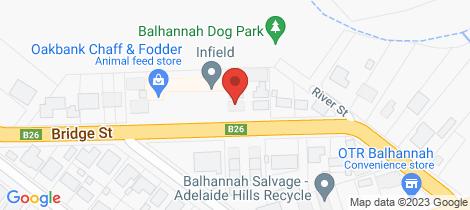 Location map for 7/22 Bridge Street Balhannah