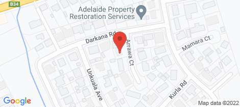 Location map for 7 Arrawa Court Balhannah