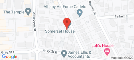 Location map for 93 Spencer Street Albany