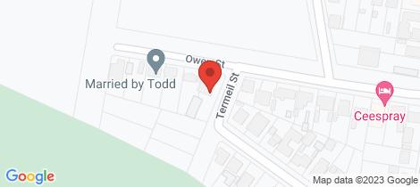 Location map for 12 Owen Street Huskisson