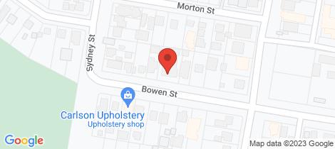 Location map for 1/5-7 Bowen Street Huskisson