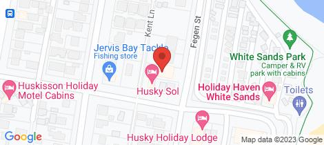 Location map for 4/19 Fegen Street Huskisson