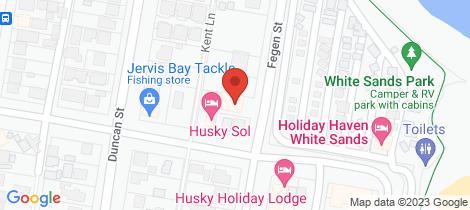Location map for 5/19 Fegen Street Huskisson