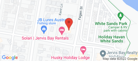 Location map for 4/19 Fegen Street Huskisson