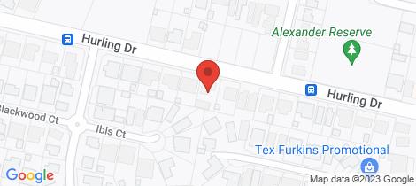 Location map for 97 Hurling Drive Mount Barker