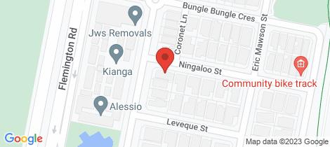 Location map for 2 Ningaloo Street Harrison