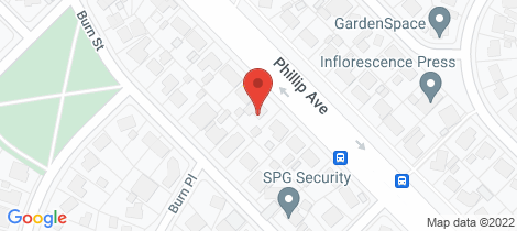 Location map for 88 Phillip Avenue Downer