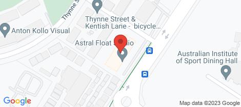 Location map for 68/15 Braybrooke Street Bruce