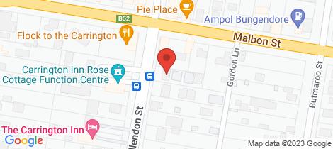 Location map for 1/50-52 Ellendon Street Bungendore