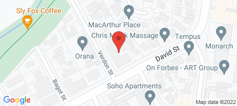Location map for 9/4 Verdon Street O'connor