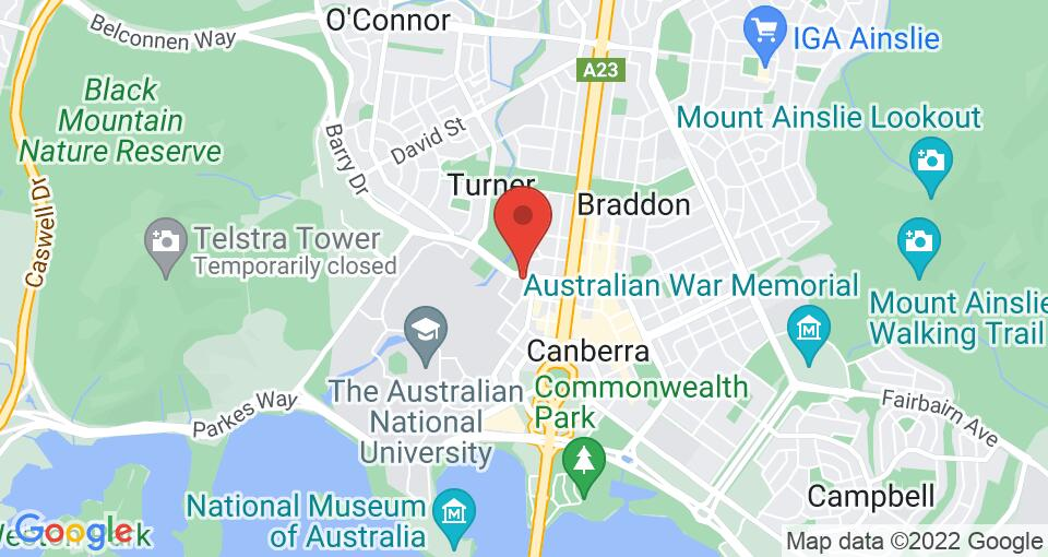 Google Map of UniLodge @ ANU – Lena Karmel Lodge