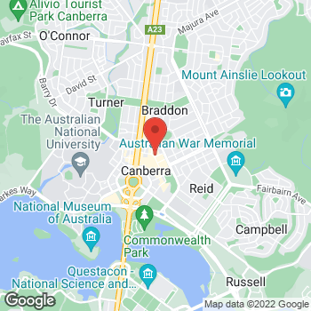Map of Foot Locker CANBERRA at Shop EF11 Canberra Centre, 148 Bunda Street, CANBERRA, NSW 2608