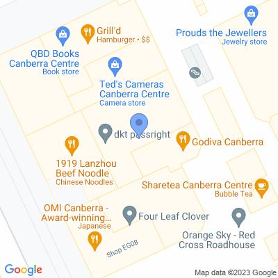 ACT- Supanews Canberra Centre Shop EG11, Canberra Centre, Bunda Street , CANBERRA, ACT 2601, AU
