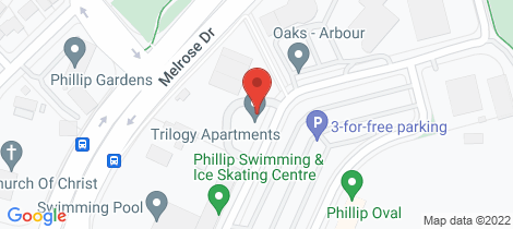 Location map for 140/7 Irving Street Phillip