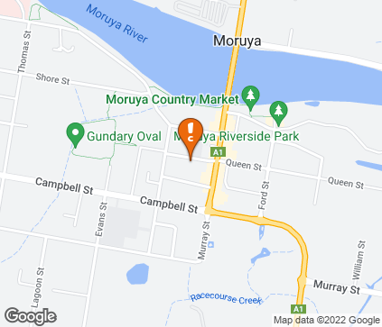 Map of Queen St Medical Centre in Moruya