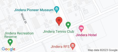 Location map for 120 Urana Street Jindera