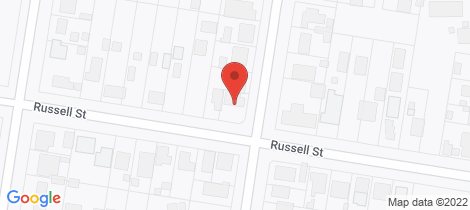 Location map for 19 Russell Street Howlong