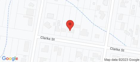 Location map for 109 Clarke Street Howlong