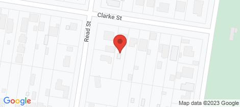 Location map for 166 Clarke Street Howlong