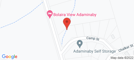 Location map for 1 Camp Street Adaminaby