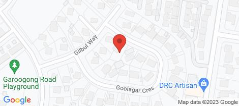 Location map for 57 Goolagar Cresent Springdale Heights