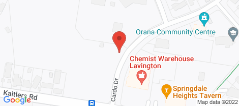 Location map for 14 Gardinia Street Springdale Heights