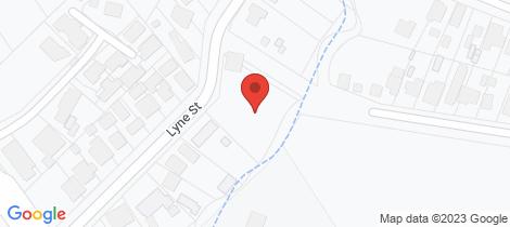 Location map for 530 Lyne Street Lavington