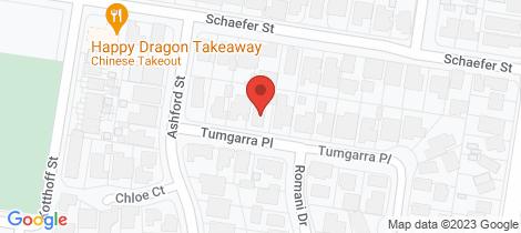Location map for 2/436 Tumgarra Place Lavington
