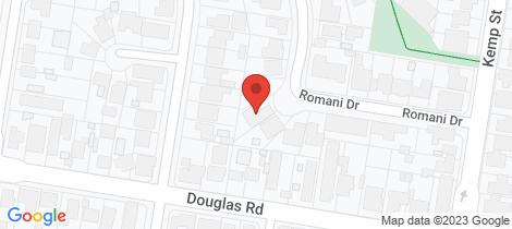 Location map for 427 Romani Drive Lavington