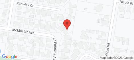 Location map for 50 La Fontaine Avenue Lavington