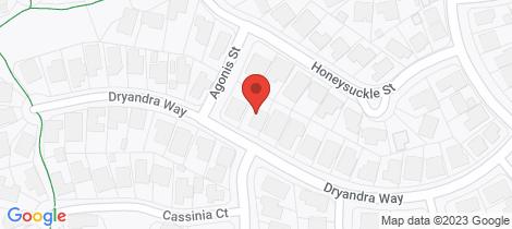 Location map for 88 Dryandra Way Thurgoona