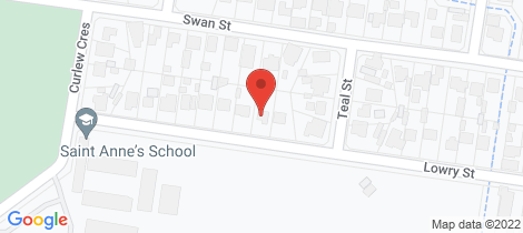 Location map for 254 Lowry Street North Albury