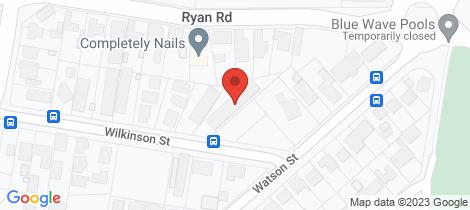Location map for 3/658 Wilkinson Street Glenroy