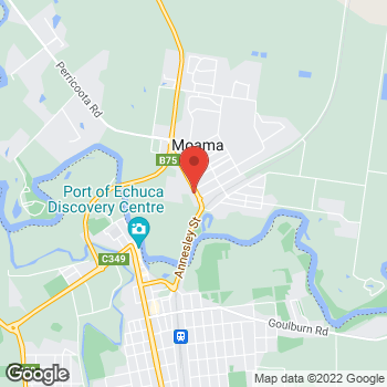 Map of O'Brien Electrical Echuca-Moama at 32 Meninya St, Moama, NSW 2731