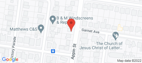 Location map for 83 Appin Street Wangaratta