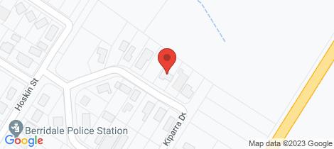 Location map for 21 Kiparra Drive Berridale