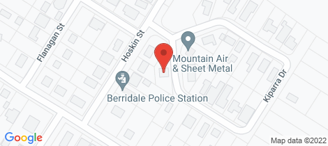 Location map for 1 Kiparra Drive Berridale