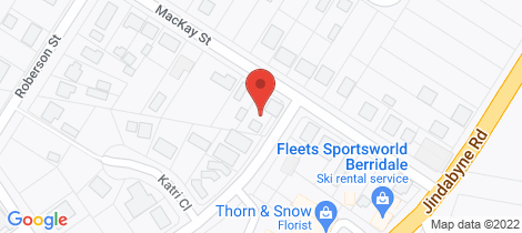 Location map for 10 Mackay Street Berridale