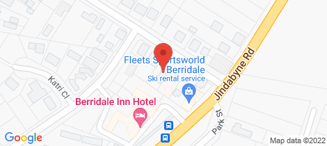 Location map for 4 Mackay Street Berridale