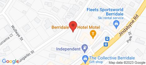Location map for 7/5 Gungarlin Street Berridale