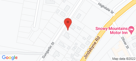 Location map for 25 Gungarlin Street Berridale