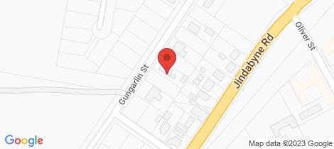 Location map for 29 Gungarlin Street Berridale